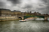 Bridge paris — Foto Stock