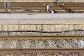 Vía férrea — Foto de Stock