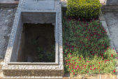 Two tombs in a cemetery — Stock Photo