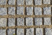 Square paving stones — Stock Photo