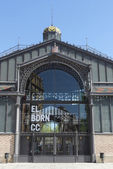 Born market facade, Barcelona — Photo