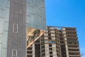 Modern skyscrapers, Barcelona. — Stock Photo