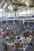 Flea market, Els Encants Vells, Barcelona. — Stockfoto