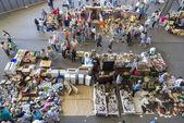 Mercato delle pulci, els encants vells, barcellona. — Foto Stock