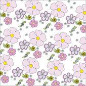 A simple floral pattern — Vecteur