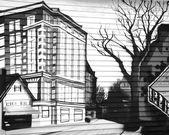 Portland Graffiti — Stock Photo