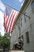 Harvard Monument — Stock Photo