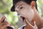 Man's make up — Stock Photo