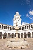 San Francisco Xavier University, Sucre, Bolivia — Stock Photo