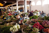 Bolivian market — Stock Photo