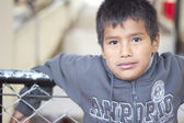 Bolivian boy — Stock Photo