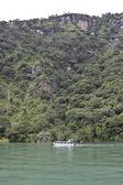 Lake Atitlan's margins — Stock Photo