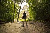 Tikal's hidden temples — Stock Photo