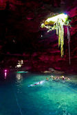 Mexican cenote — Foto Stock