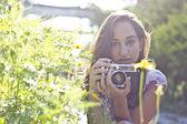 Young Brazilian girl — Stock Photo
