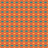Square Abstract Batik Pattern Vector — Vecteur