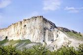 White Mountain Crimea — Stock Photo