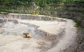Quarry on getting of granite — Photo