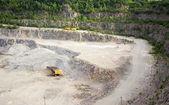 Kamieniołom na uzyskanie z granitu — Zdjęcie stockowe