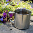 Metal cup — Stock Photo #50326301