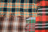 Abstract background: woolen blanket cell — Foto Stock