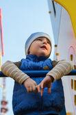 Boy at the playground — Stock Photo