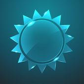 Vektor-glas-sonne-symbol. eps10 — Stockvektor