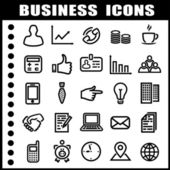 Business-symbole — Stockvektor