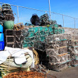 Lobster traps and crab pots — Stock Photo
