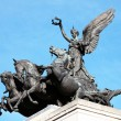 Постер, плакат: Quadriga placed upon Wellington Arch