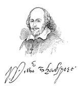 William Shakespeare — Stock Photo