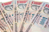 Thousand Rupee Notes — Stock Photo