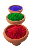 Colored Powders — Stock Photo