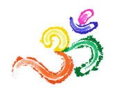 Colorful Om — Stock Photo
