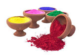Colored Dyes — Stockfoto