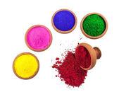 彩色的染料 — 图库照片
