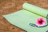 Stuoia di yoga — Foto Stock