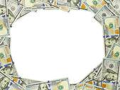 Dollar vignette 3:4 — Stock Photo