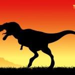 Tyrannosaurus rex — Stock Vector #46026011