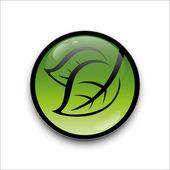 Green leaf — Stock Vector