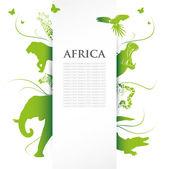Africa banner — Stock vektor
