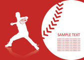 Baseball nápisy — Stock vektor
