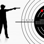 Постер, плакат: Air gun shooter