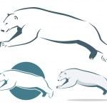 Polar bear — Stock Vector #46549127