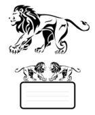 Lion symbol — Stock Vector