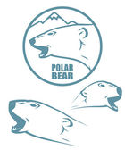 Polar bear — Vetorial Stock