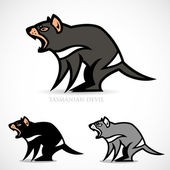 Tasmanian devil — Stock Vector