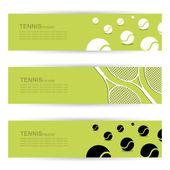 Tenis popisek — Stock vektor