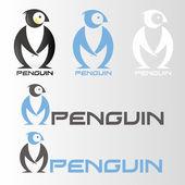 Penguin symbol — Stock Vector