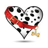 Dalmatian pattern — Stock Vector